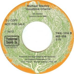 STANLEY MICHAEL - TUMBLEWEED 1014 B
