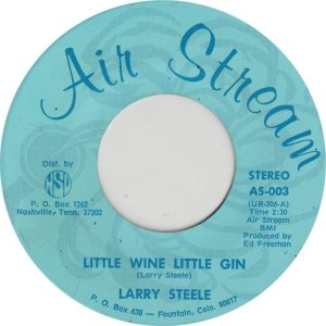 STEELE LARRY - AIR STREAM 4 ADD