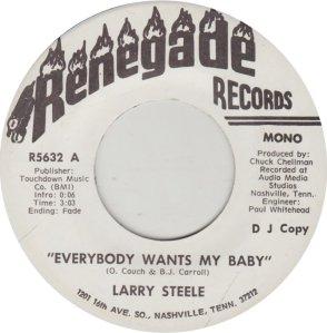 STEELE LARRY - RENEGADE 5632