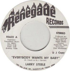 STEELE LARRY - RENEGADE 5632_0001