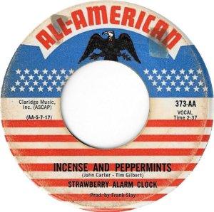 STRAWBERRY ALARM CLOCK 45 american 1967