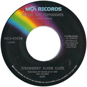STRAWBERRY ALARM CLOCK 45 MCA A
