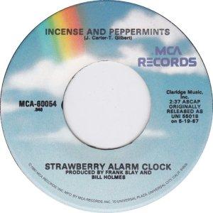 STRAWBERRY ALARM CLOCK 45 MCA B