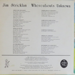 STRICKLAND JIM - SKINNY MAN CB