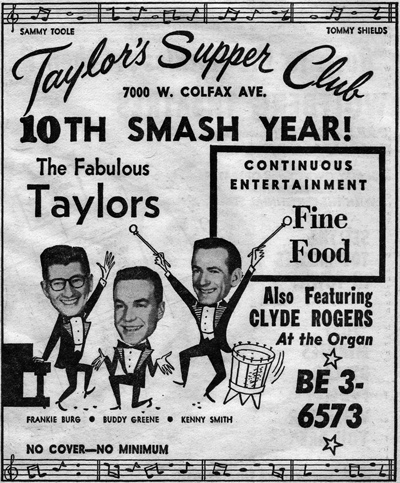 "The Taylors (Image from ""The Denver Eye"")"