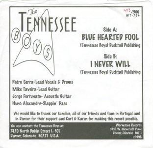 TENNESSEE BOYS - WORMTONE ADD A