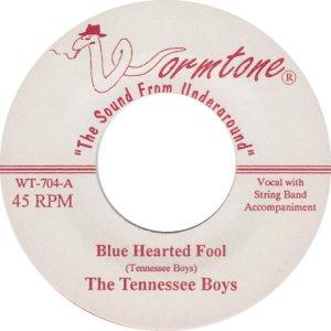 TENNESSEE BOYS - WORMTONE ADD B