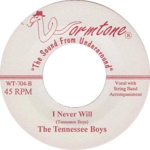 TENNESSEE BOYS - WORMTONE ADD C