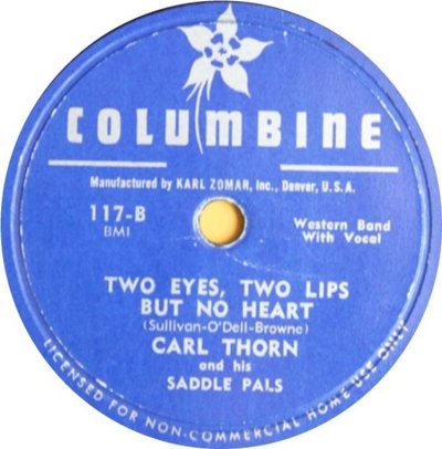 THORN CARL - COLUMBINE 117 B