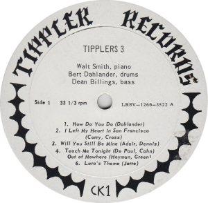 TIPPLERS THREE - TIPPLER R