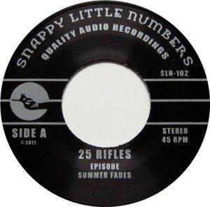 TWENTY FIVE RIFLES SIN 102 A (3)