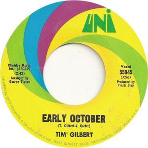 Uni 55056 - Gilbert, Tim - Uni 55045 - Early October
