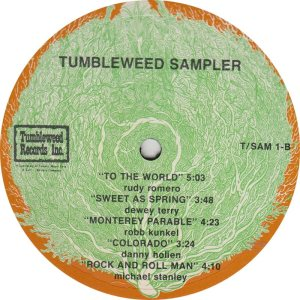 VARIOUS - TUMBLEWEED 1 R_0001