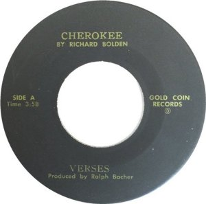 VERSES - GOLD COIN BW BLUES FOR PEGGY