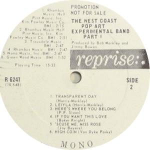 WEST COAST POP DJ LP B
