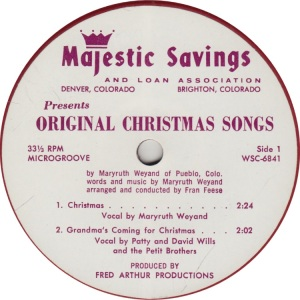WEYAND MARYRUTH - MAJESTIC SAVINGS