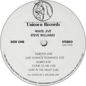 WILLIAMS STEVE - UNICORN 1000 A (1)