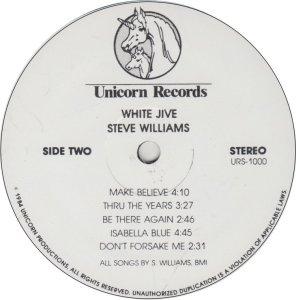 WILLIAMS STEVE - UNICORN 1000 A (2)