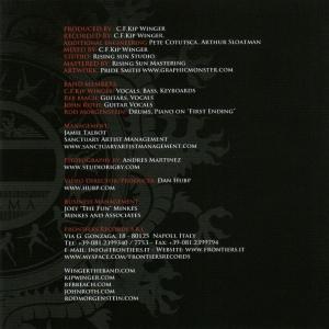 WINGER - FRONTIER LP 429 C