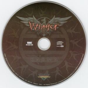 WINGER - FRONTIER LP 429 D