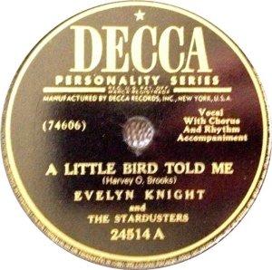 1949 - 01-22 - #1 7 WEEKS