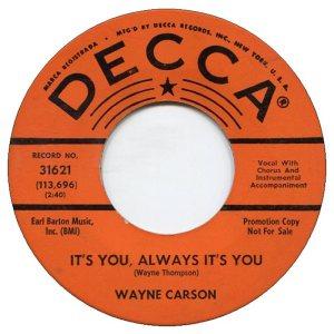 1964 05 CARSON SINGS A