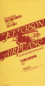 1966 02 - JEFFERSON AIRPLANE FILLMORE AUD SF CA