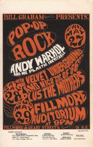 1966 05 - ANDY WARHOL & PLASTIC INEVITABLE FILLMORE AUD SF CA