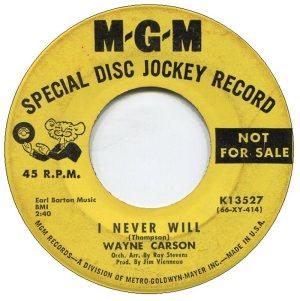 1966 06 CARSON SINGS A