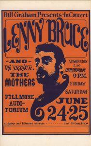 1966 06 - LENNY BRUCE FILLMORE AUD SF CA