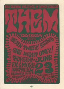 1966 06 - THEM FILLMORE AUD SF CA