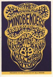 1966 07 MINDBENDERS FILLMORE AUD SF CA