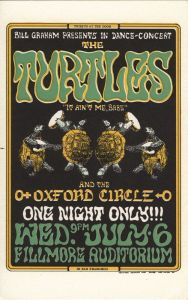 1966 07 - TURTLES FILLMORE AUD SF CA