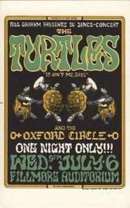 1966 07 - TURTLES FILLMORE AUD SF CA