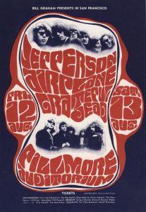 1966 08 - JEFFERSON AIRPLANE FILLMORE AUD SF CA
