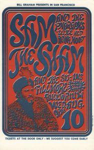 1966 08 - SAM THE SHAM & PHAROAHS FILLMORE AUD SF CA