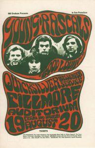 1966 08 - YOUNG RASCALS FILLMORE AUD SF CA