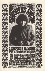 1966 10 - GRATEFUL DEAD FILLMORE AUD SF CA