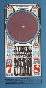 1966 10 - JEFFERSON AIRPLANE FILLMORE AUD SF CA