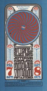 1966 10 - JEFFERSON AIRPLANE FILLMORE AUD SF CA