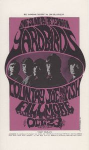 1966 10 - YARDBIRDS FILLMORE AUD SF CA