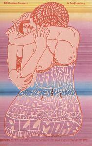 1966 11 - JEFFERSON AIRPLANE FILLMORE AUD SF CA