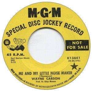 1966 12 CARSON SINGS A