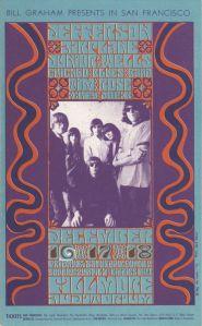 1966 12 - JEFFERSON AIRPLANE FILLMORE AUD SF CA