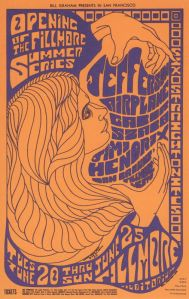 1967 06 - JEFFERSON AIRPLANE FILLMORE AUD SF CA