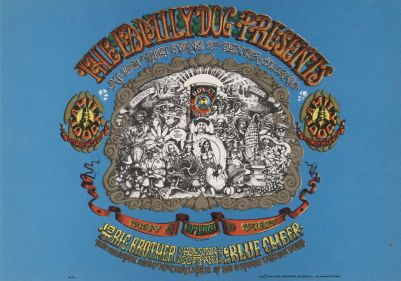 1967 09 - BIG BROTHER & HOLDING CO DENVER FAMILY DOG