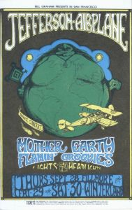 1967 09 - JEFFERSON AIRPLANE FILLMORE AUD SF CA