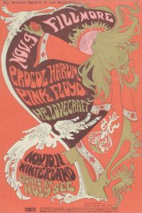 1967 11 - PINK FLOYD FILLMORE AUD SF CA