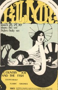 1968 03 - FLAMIN GROOVIES FILLMORE AUD SF CA
