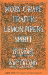 1968 03 - LEMON PIPERS FILLMORE AUD SF CA